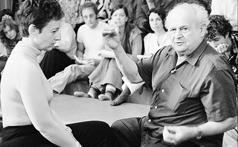 Dr Feldenkrais teaching